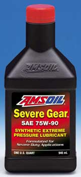 Amsoil Severe Gear 75W-90 Synthetic Extreme Pressure Lubricant (SVG)