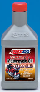 Amsoil 10W-30 Advanced Synthetic Motorcycle Oil (MCT)