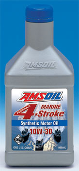 Amsoil Formula 4 Stroke 10W-30 Synthetic Marine Oil (WCT)