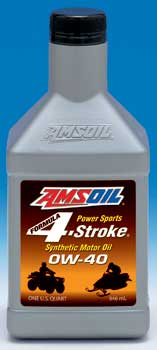 Amsoil Formula 4 Stroke 0W-40 Synthetic Powersports Oil (AFF)