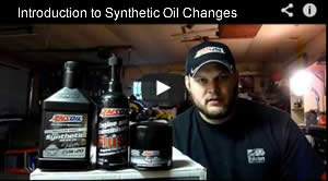synthetic oil change video